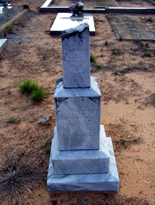 Tombstone- John Thomas Jefferson Mims