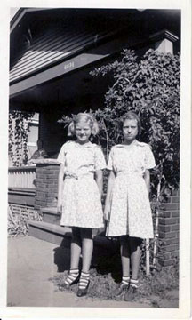 Anna Belle and Alta Lousie age 7